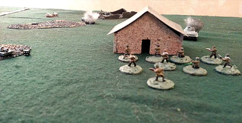 ( Meanwhile the russian launched a Close Combat, and took my trenches )