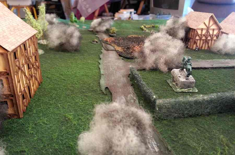 ( and the artillery came again and again .. Even destroying the house in the middle ! It was over for me .. )