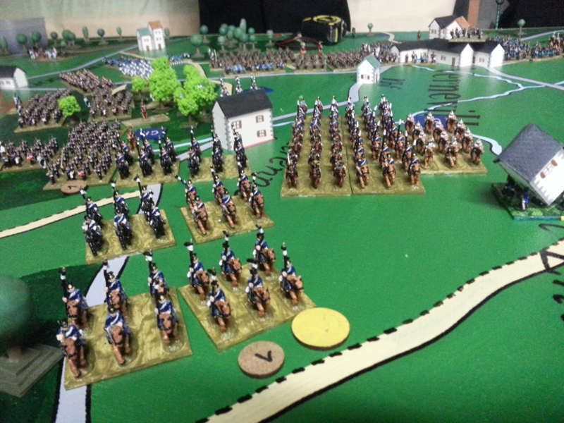 ( They launched an impressive cavalry attack ! )