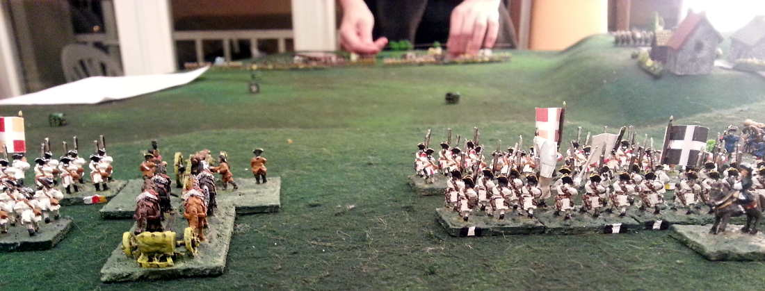 ( My french brigades, attacking the prussians )