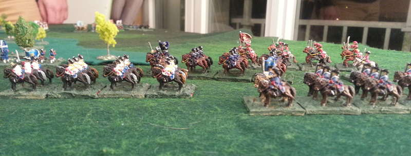 ( On my right flank, my cavalry rushed to regroup with my main forces )