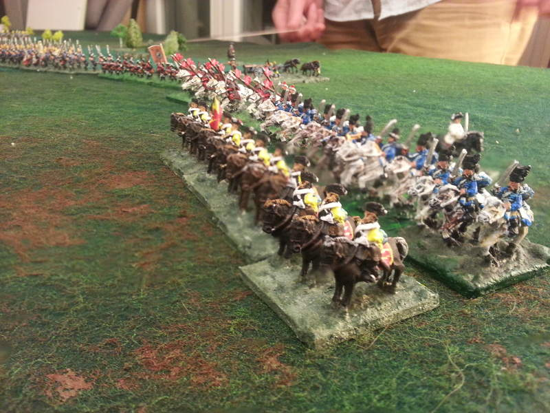 ( The prussian cavalry on my right )