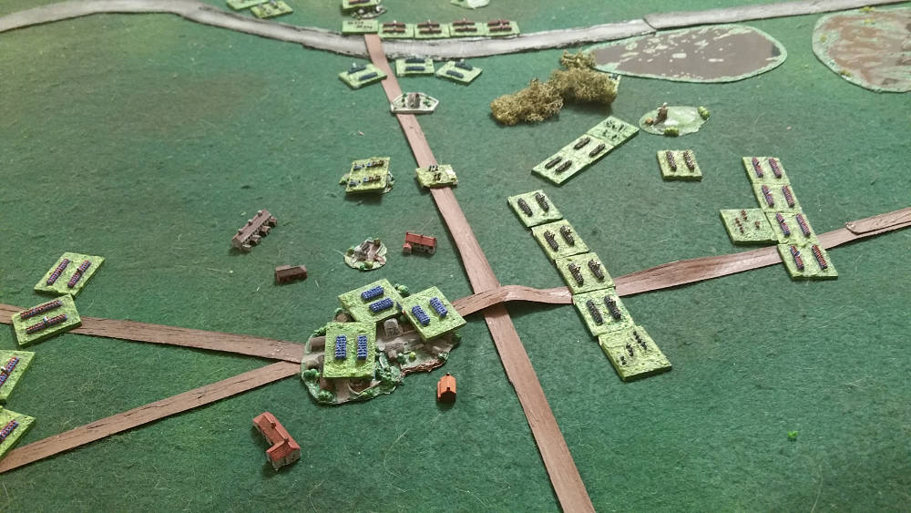 ( The time is over now : Luc's prussian army finally hold the victory points, but couldn't fight anymore )