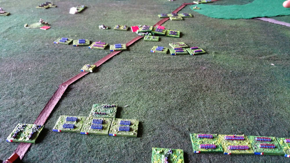 ( Although Chanzy led his units, some didn't move quickly towards Coulmiers, for exemple the gardes mobiles )