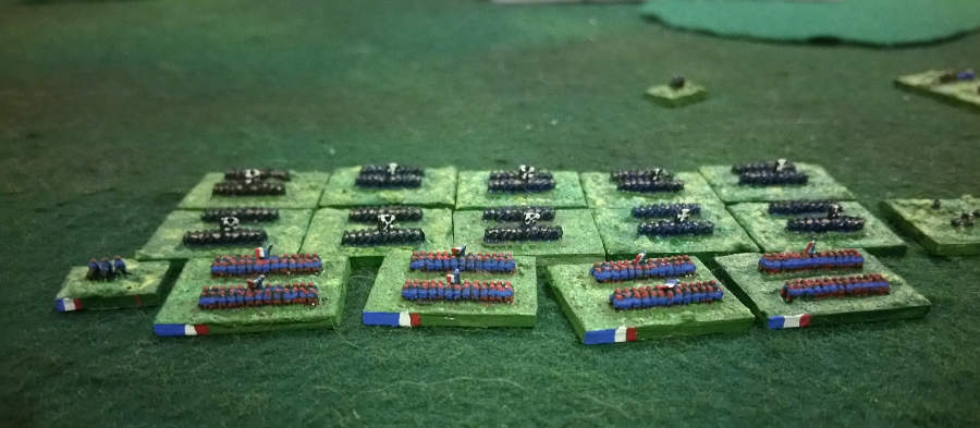 ( Luc didn't wait for my units to take position. He launched a charge to my 1st distrupted unit )