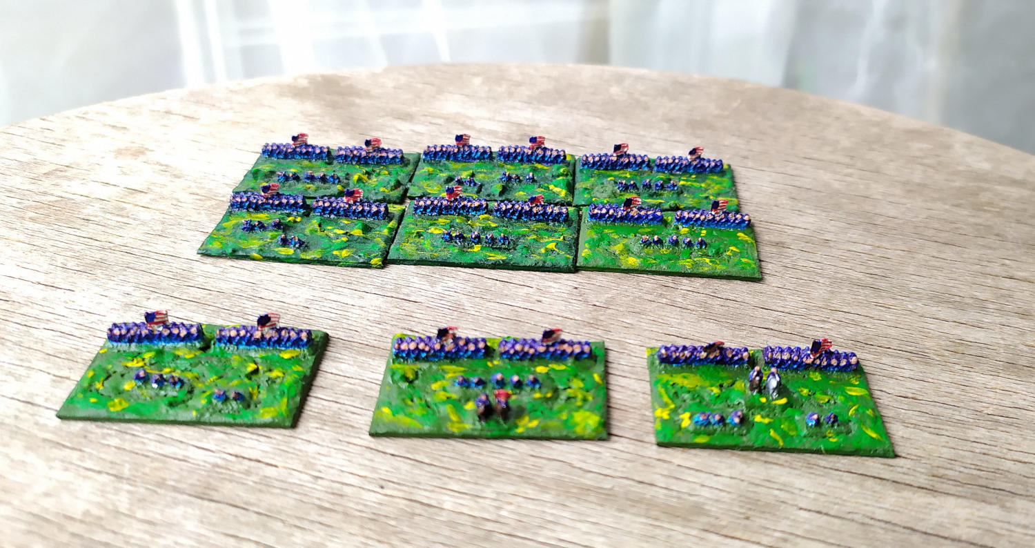 (2mm ACW figs for Bloody Big Battles )