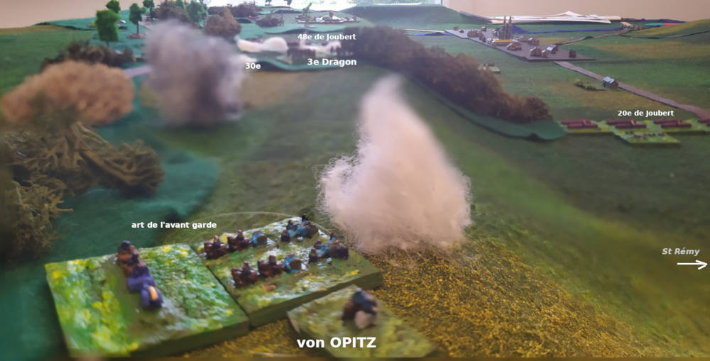( Turn 4 seen from the prussian general von Opitz )
